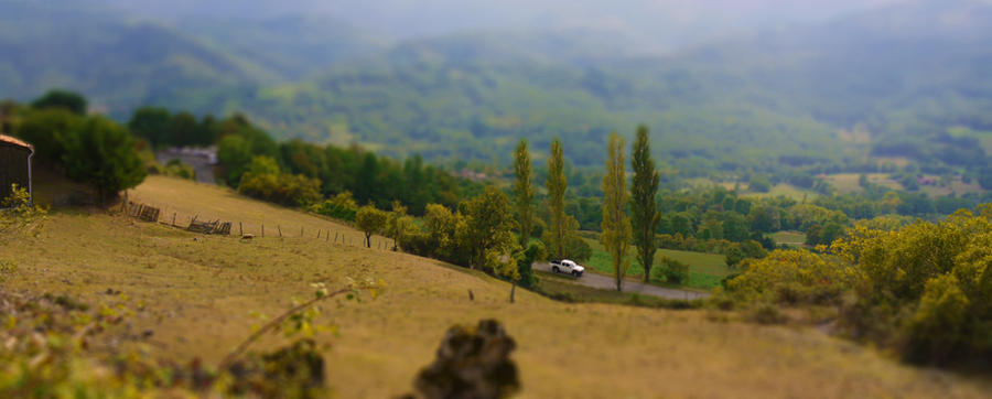 Tilt shift by Spunkii
