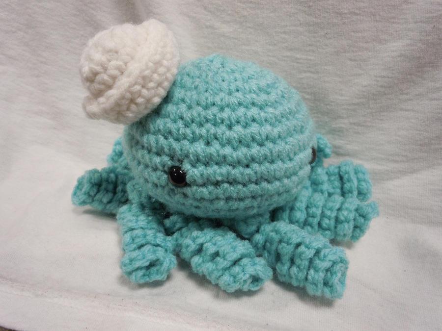 Blue Sailor Amigurumi Octopus by SugarJerseyJones on ...