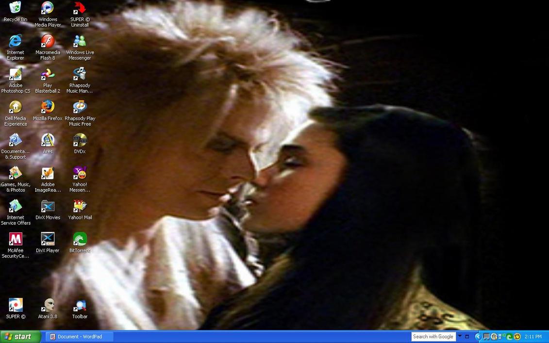 Labyrinth Jareth+Sarah Kiss SC by SailorArctic