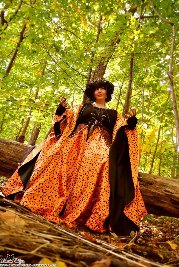 Oct10- Pumpkin Queen by MelanieWolfrin
