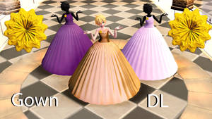 Ball gown [ Pmx + Pmd downloads ]