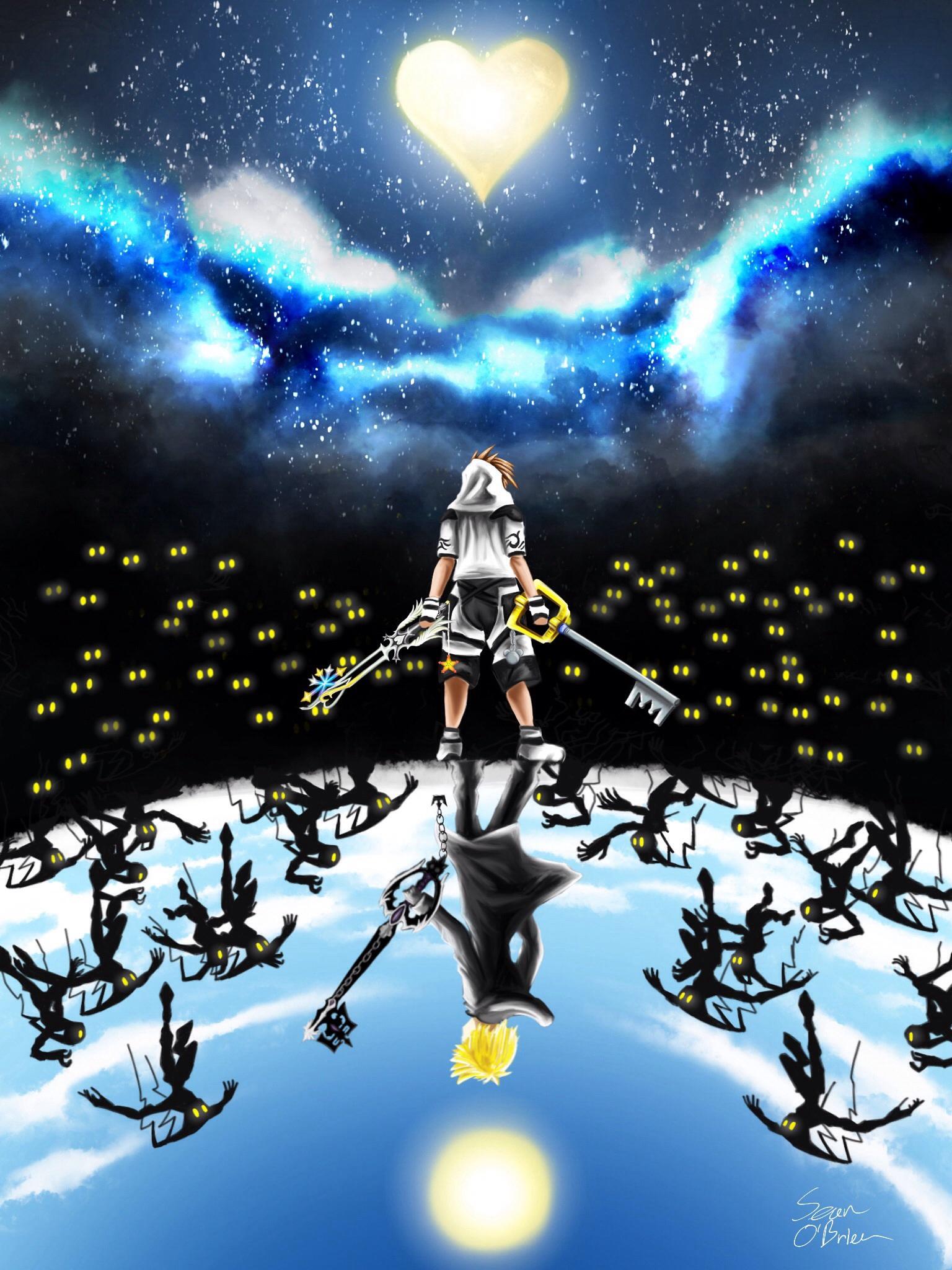 Kingdom hearts Reflect by Banditcat123