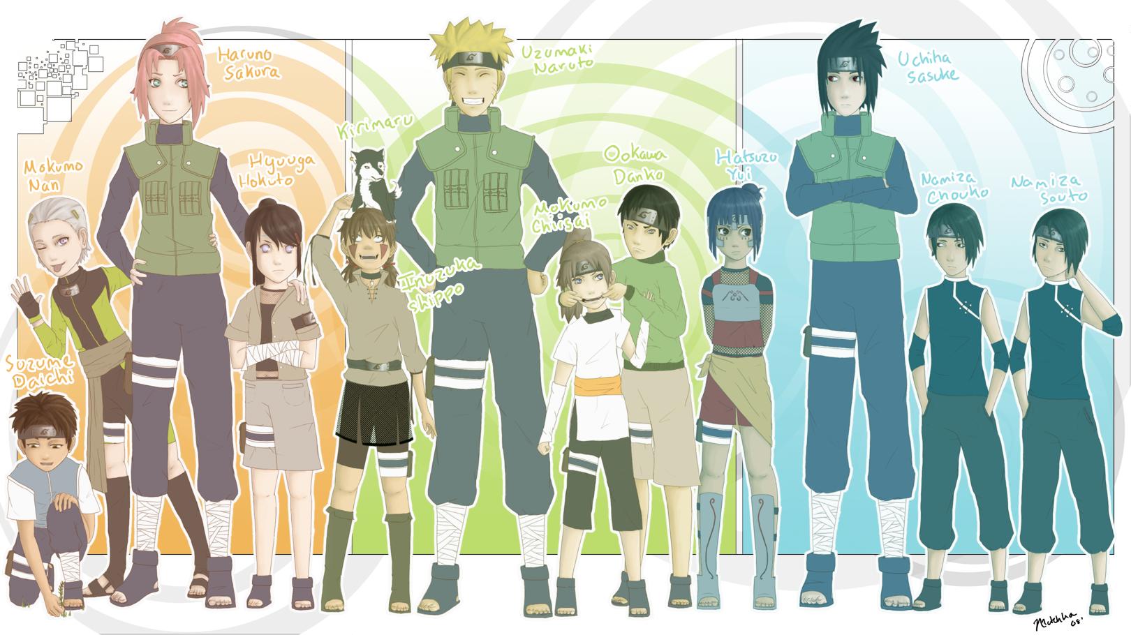 Naruto Next Generation Girls Related Keywords - Naruto ...