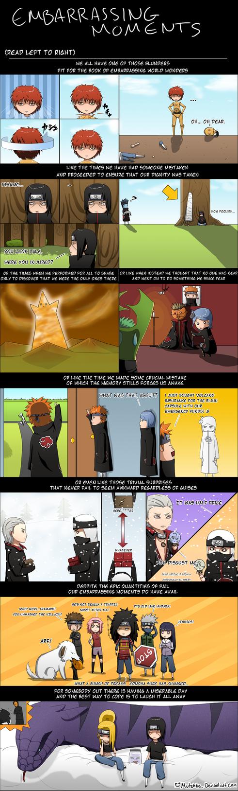 Akatsuki -Embarrassing Moments by Mutchka