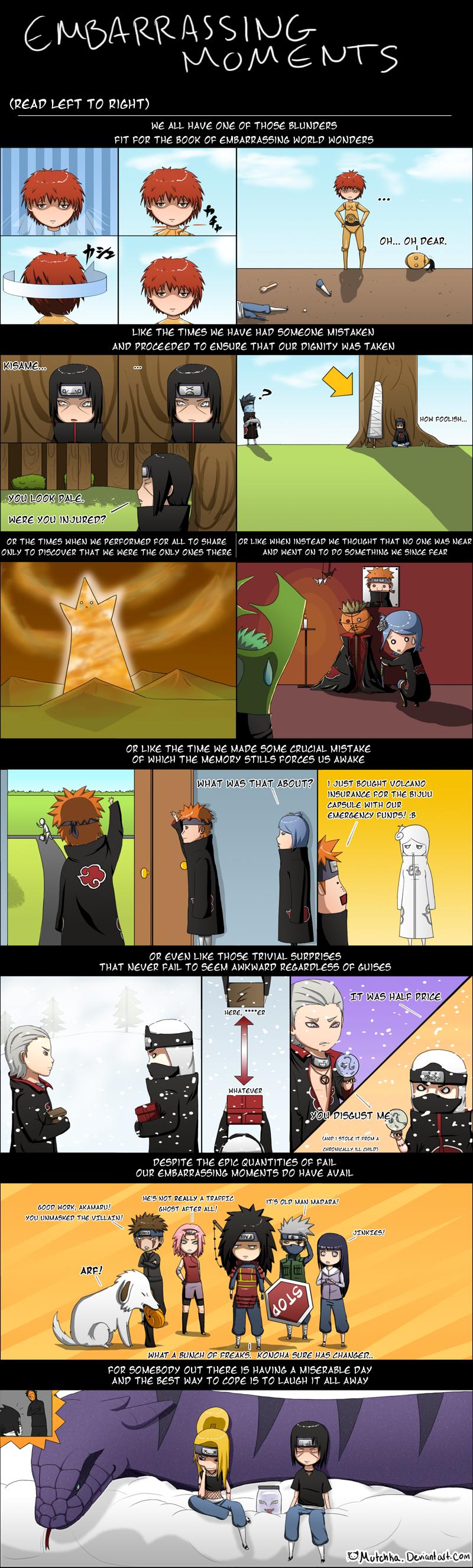 Funny Akatsuki Comics #11