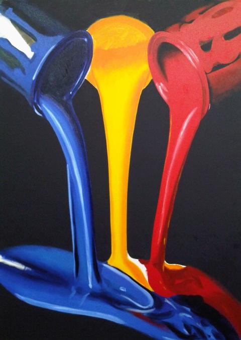 paint fall by xavierflorensa