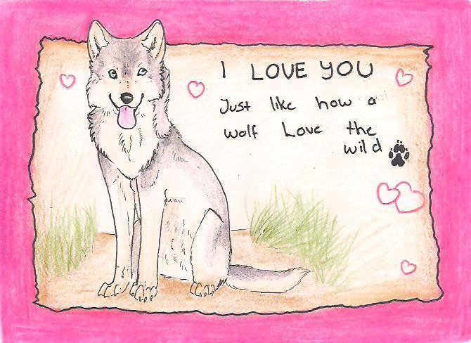 I love you by Crazywolfs