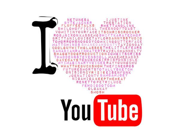 I LOVE YouTube by N0nC0nf0rmist-ART on DeviantArt