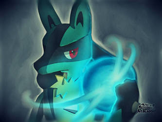Lucario by Sapphiredrop