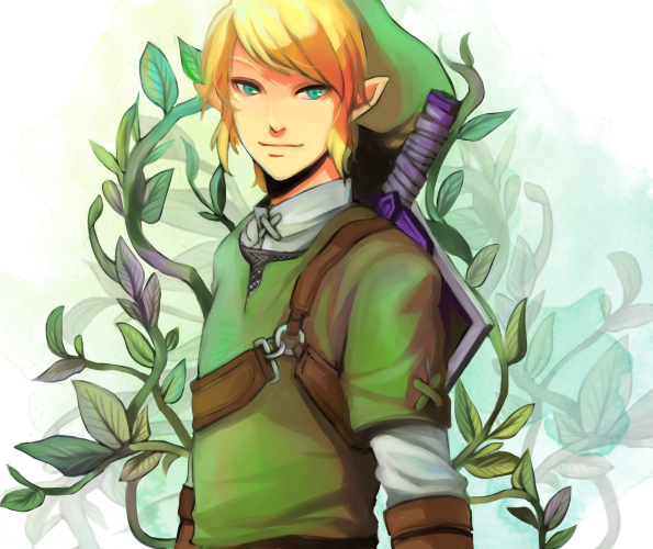 legend of zelda link by vanillatte54 on DeviantArt