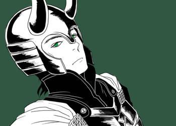 Thor 2011: LOKI by vanillatte54