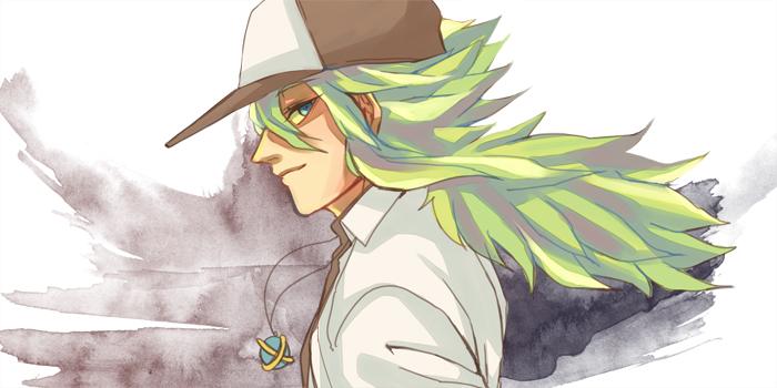 Pokemon N by vanillatte54