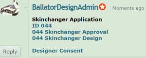 Skinchanger Application by BallatorDesignAdmin