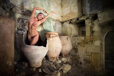 The spirit of the amphora by JudithGeiser