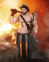 Chris The Fireman by TheEternalHorus