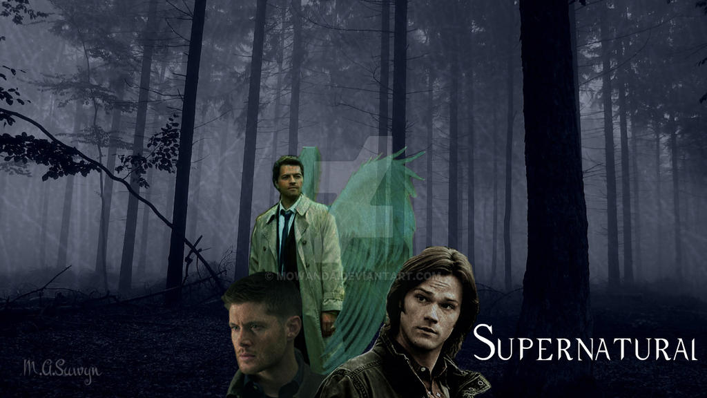 Supernatural desktop wallpaper by mowanda on deviantart supernatural desktop wallpaper by mowanda voltagebd Images