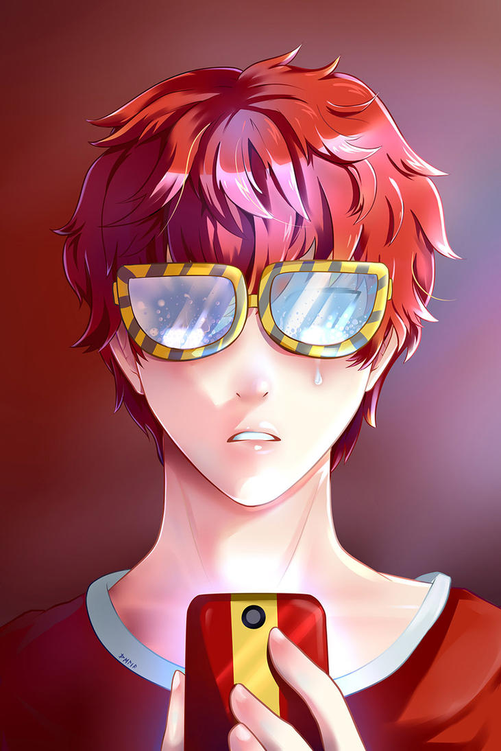 Behind the screen - 707 by 666Celia
