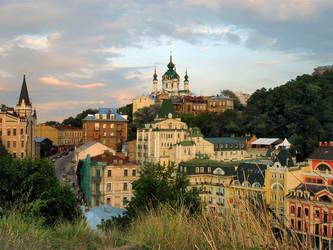 Andriyivskyy Uzviz, Kyiv by VSESVIT