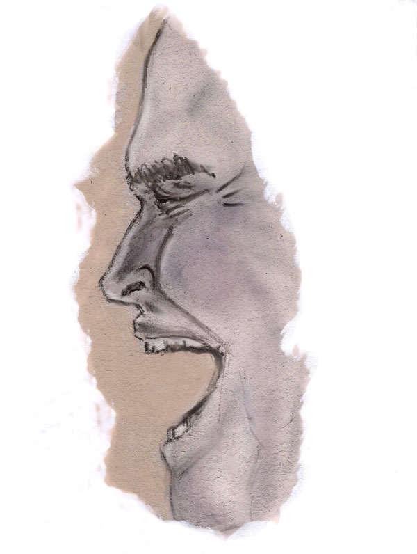 Thomas Covenant sketch by hybridjosto