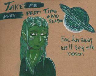 Take Me Away-Globus by Raikeneko