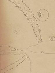 Landscape by Raikeneko