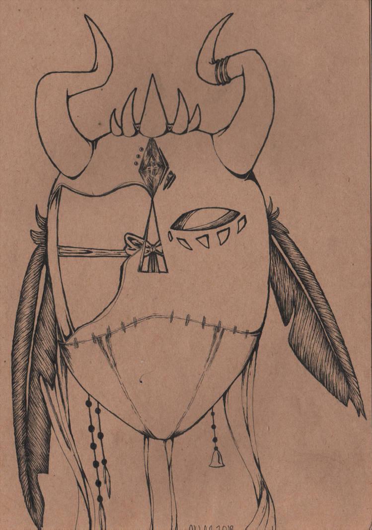 Broken Mask by Raikeneko