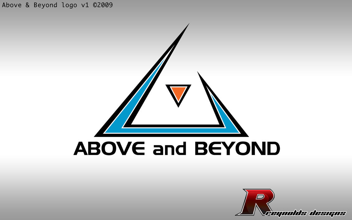 Above and beyond logo by creynolds25 on deviantart for Above and beyond