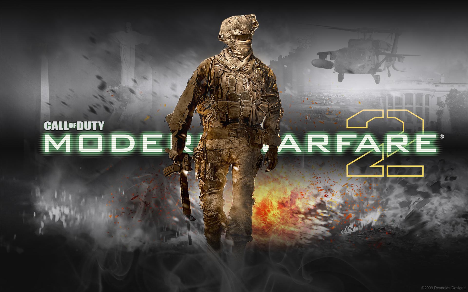 Modern Warfare 2 Wallpaper By Creynolds25 On Deviantart