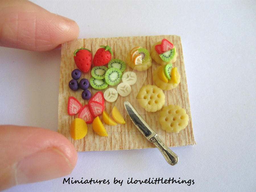 Miniature Fruit Tarts Prep by ilovelittlethings