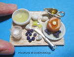Miniature Blueberry Pancakes by ilovelittlethings