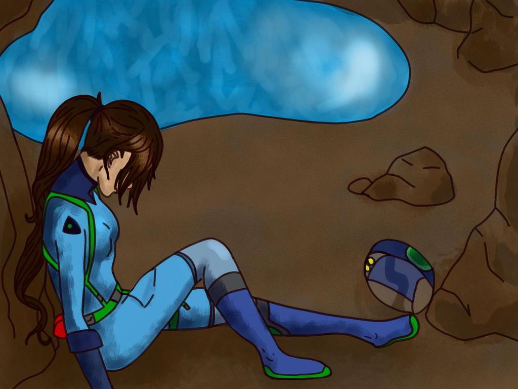 JJ Stuck In An Underwater Cave... By Greentigergirl On