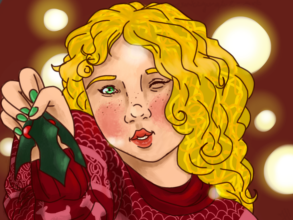 Morgen wishes a merry christmas. by greentigergirl