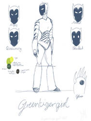 Greentigergirl- new character desing