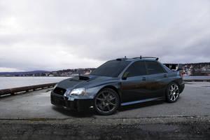 Subaru Impreza at dock by AnalyzerCro