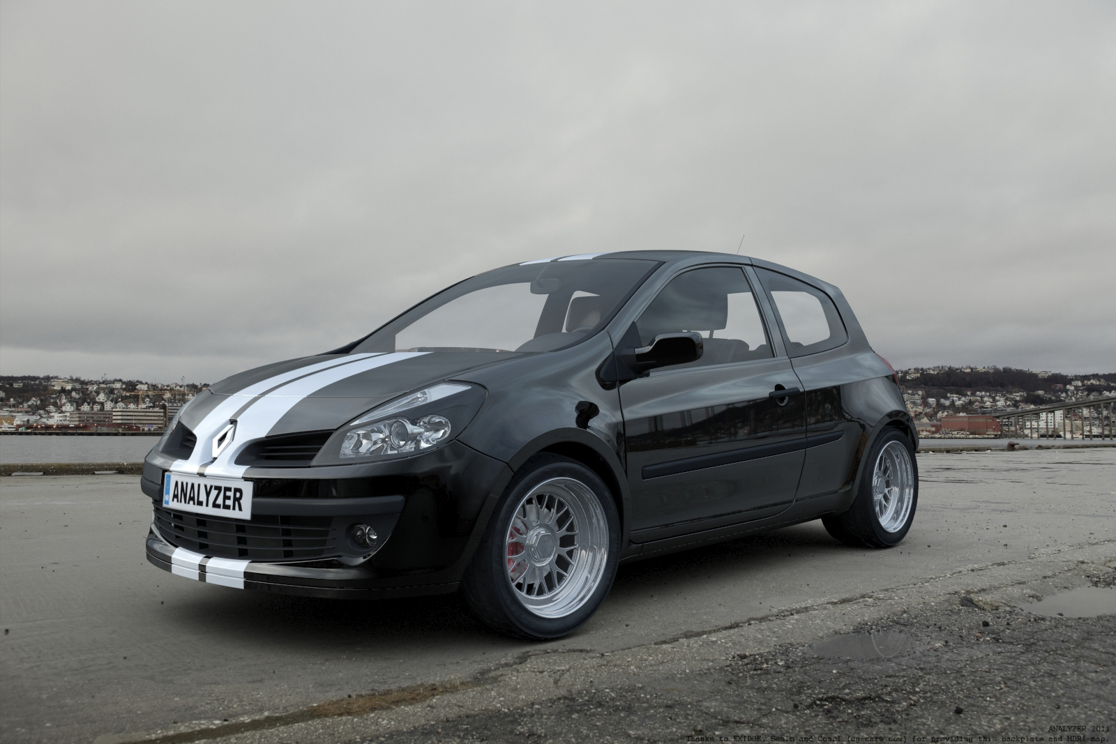 renault clio sport v2 by analyzercro on deviantart. Black Bedroom Furniture Sets. Home Design Ideas