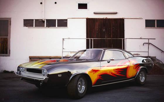 Dodge Challenger 1970 by AnalyzerCro