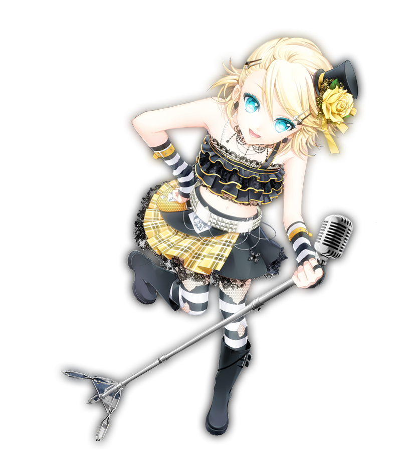 Rin Kagamine Outfit Kagamine Rin Render by