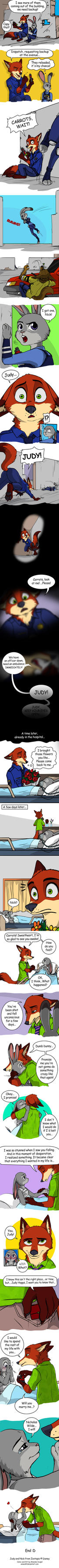 Nick and Judy - part IV - Zootopia by Amand4
