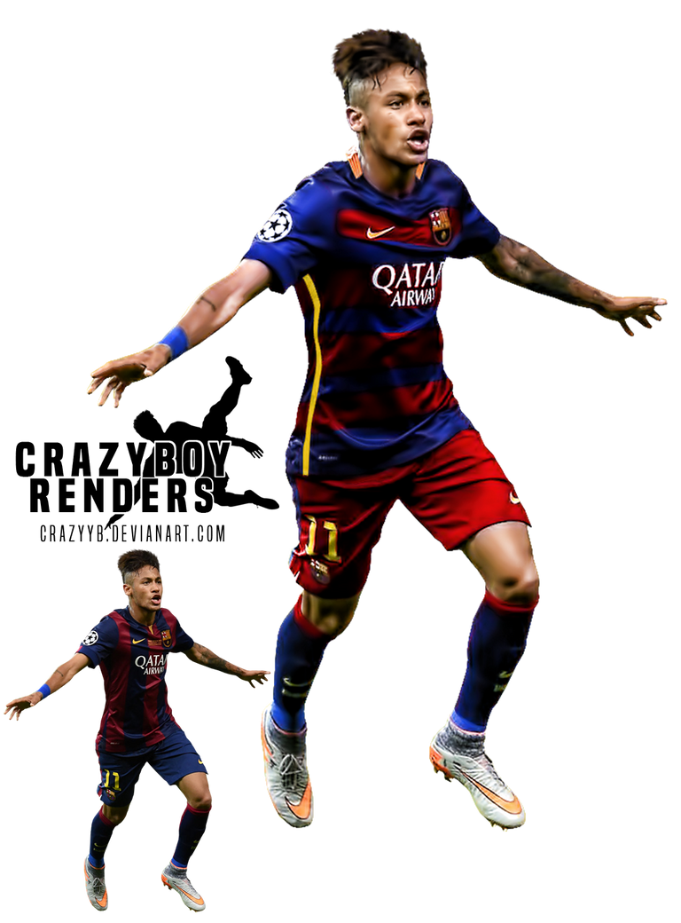 Neymar jr 15 16 render by crazyyb on deviantart - Render barcelona ...