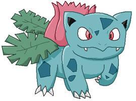 002 Ivysaur by frogsinmypool325