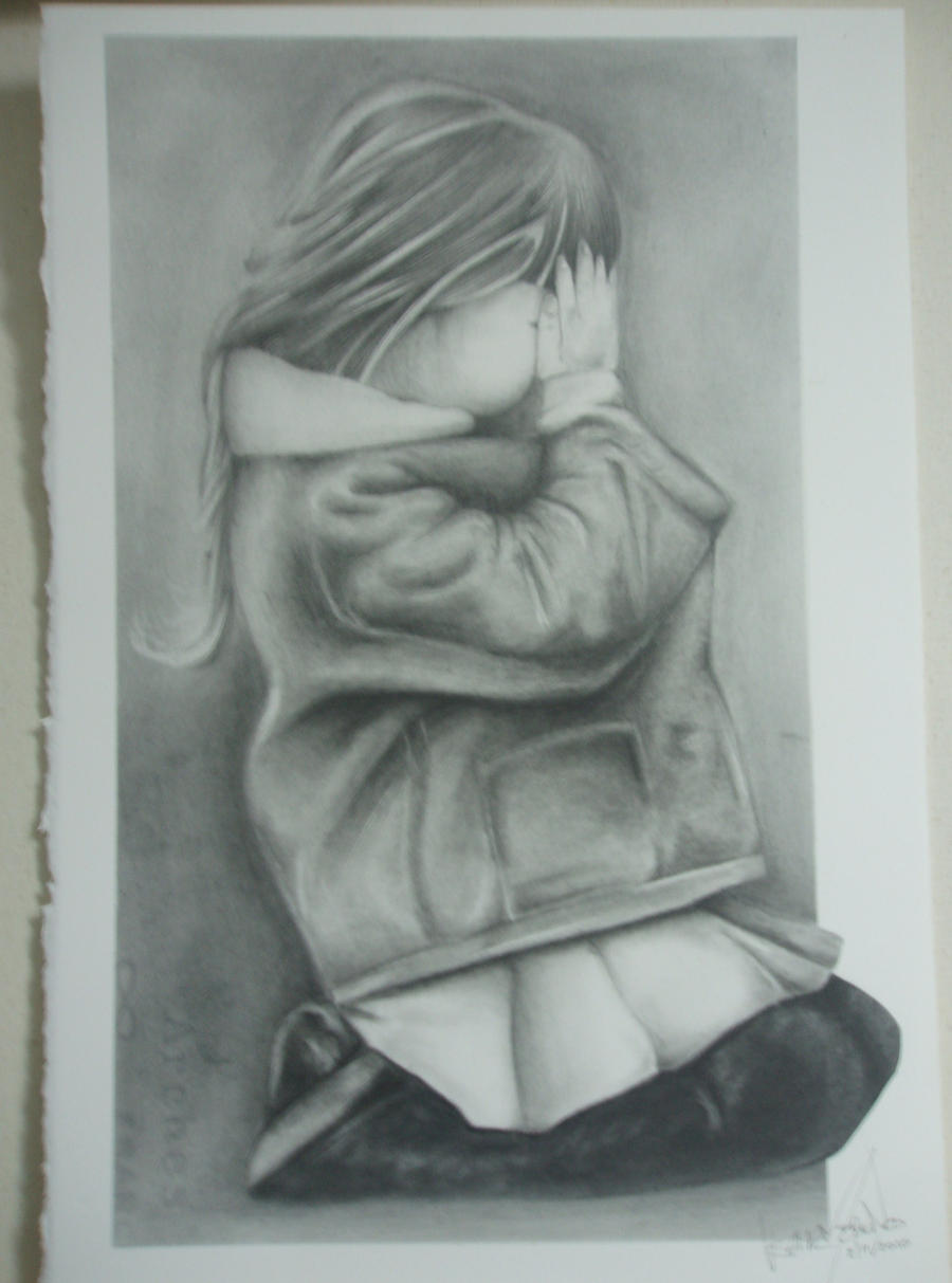 Crying Girl by Oscar0990 on DeviantArt