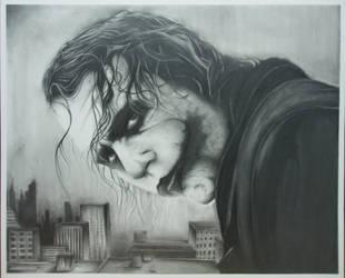 The Joker by Oscar0990