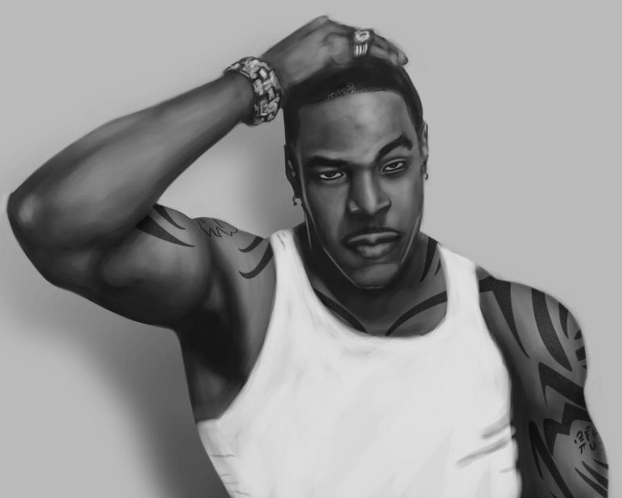 Busta Rhymes by Moestitia