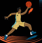 Basket Player -  Vector