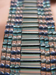 Blue Ladder Bracelet