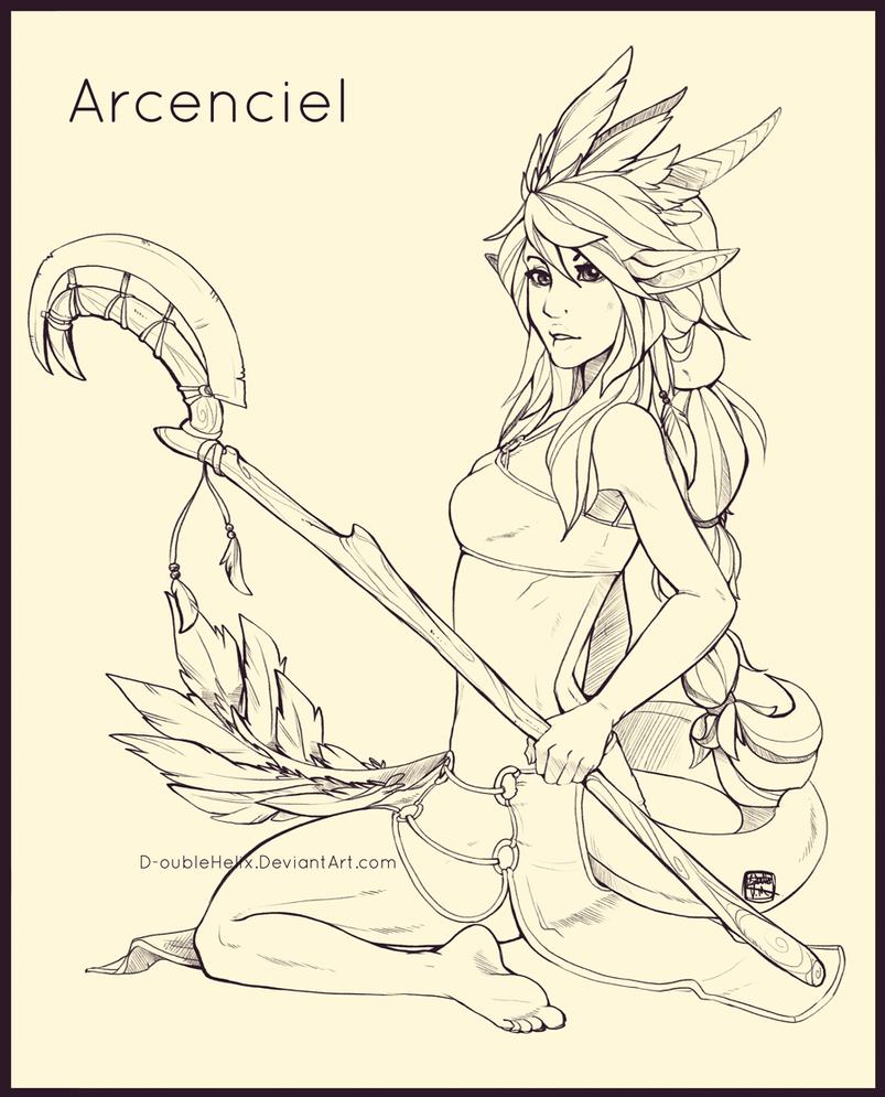 Raffle prize: Arcencielz by Helixel