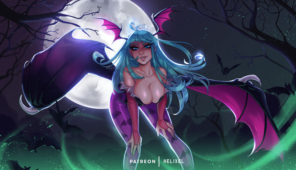 Morrigan by Helixel