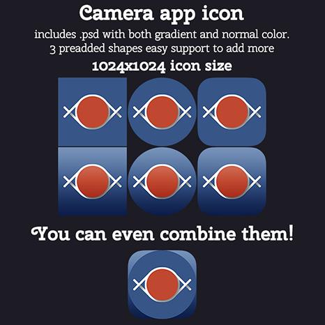 Camera app icon by MadalinVlad