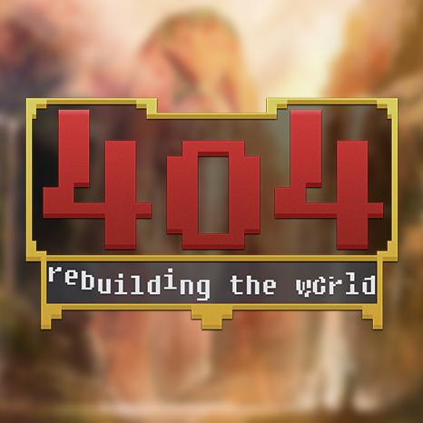 404: rebuilding the world logo by MadalinVlad