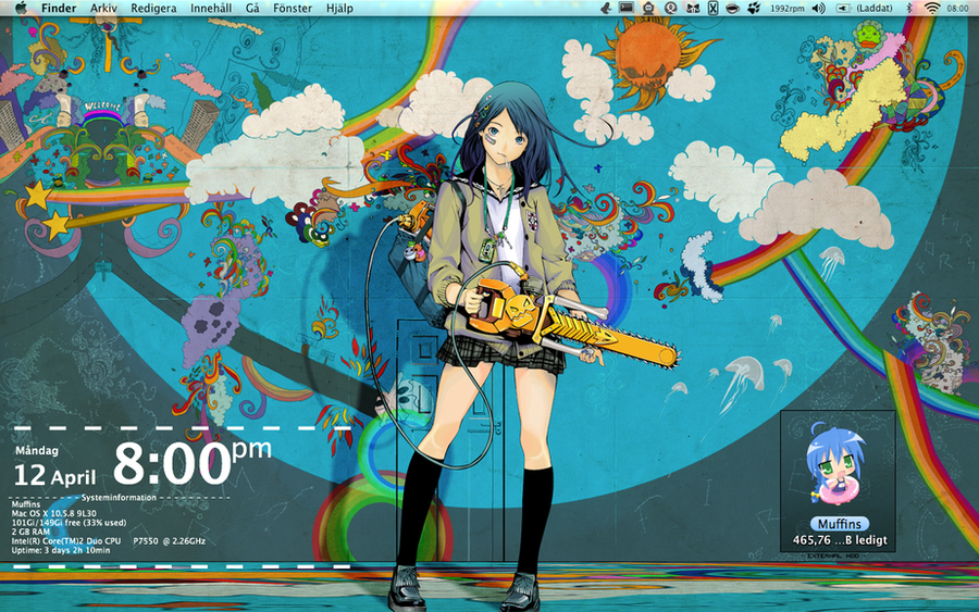 anime desktop by yurinomnom on deviantart